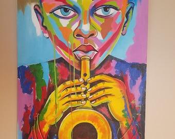 Ghanaian Artist - Komla Letsu - Brass