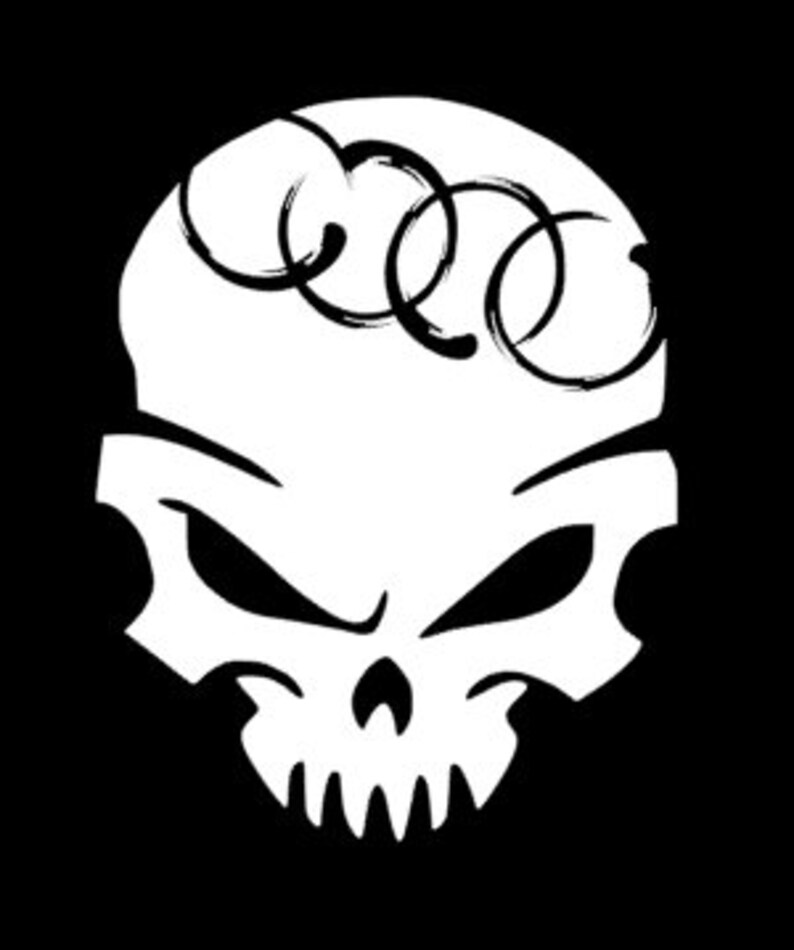 Skull Family Car Decals