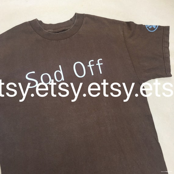 BJORK Sod Off 1997 Vintage T-shirt
