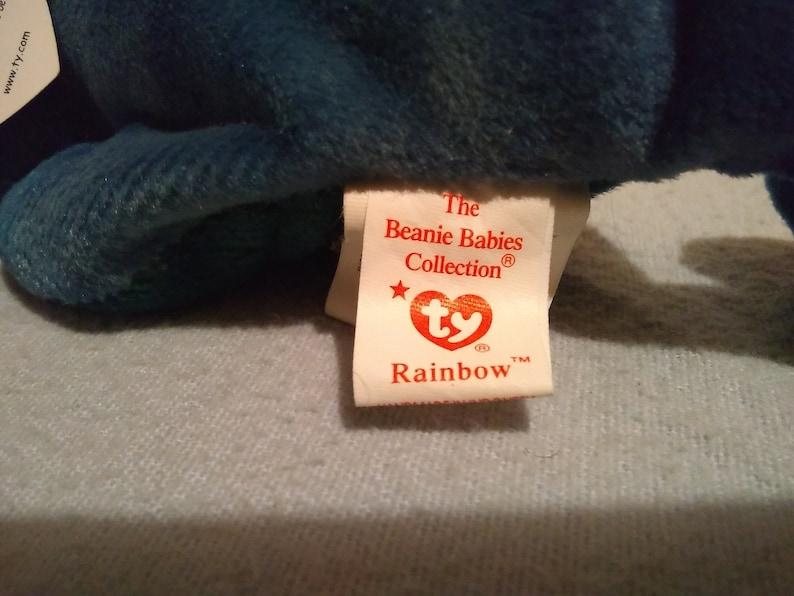 185b841e5b1 Extremely Rare TY WARNER Beanie Baby RAINBOW