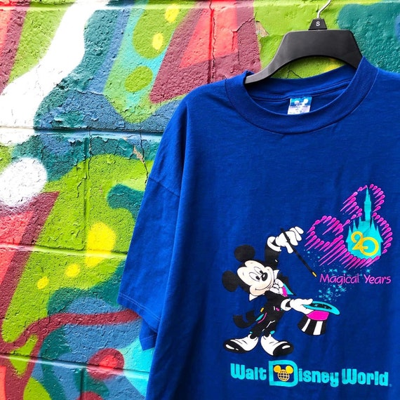 80s Vintage Mickey Mouse T Shirt Shirt Disney Stor