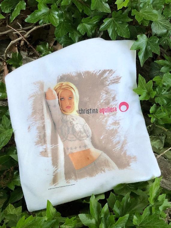 1999 Christina Aguilera Pop Music Shirt 90s Vintag