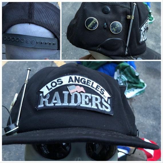 80s Vintage RAIDERS Hat Radio Vintage Trucker Hat