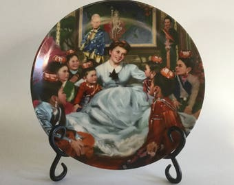 The King And I, 3rd Plate in Series, Knowles Fine China, Collectible Plate, Getting to Know You, William Chambers, 1985, Plate # 576A,