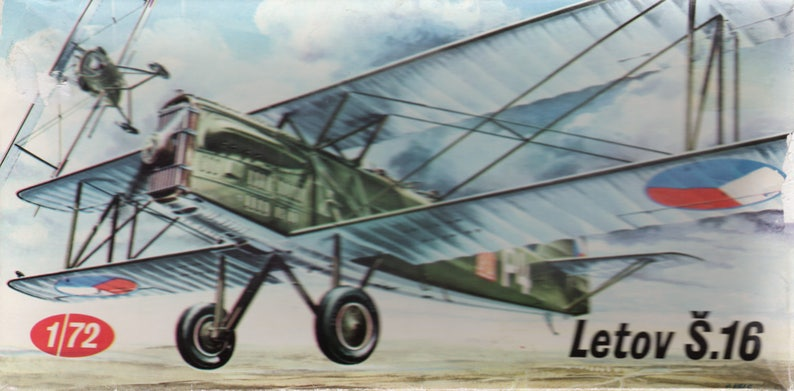 Letov S 16 WWI Aircraft Plastic Model Kit 1:72 Kp Plastikovy Models