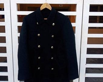 a688b2716 Yohji Yamamoto Pour Homme Japanese Legendary Designer Mega Rare Wool Parka  Light Jacket