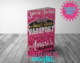 bfef4ae8c Victoria Secret Birthday Invitation