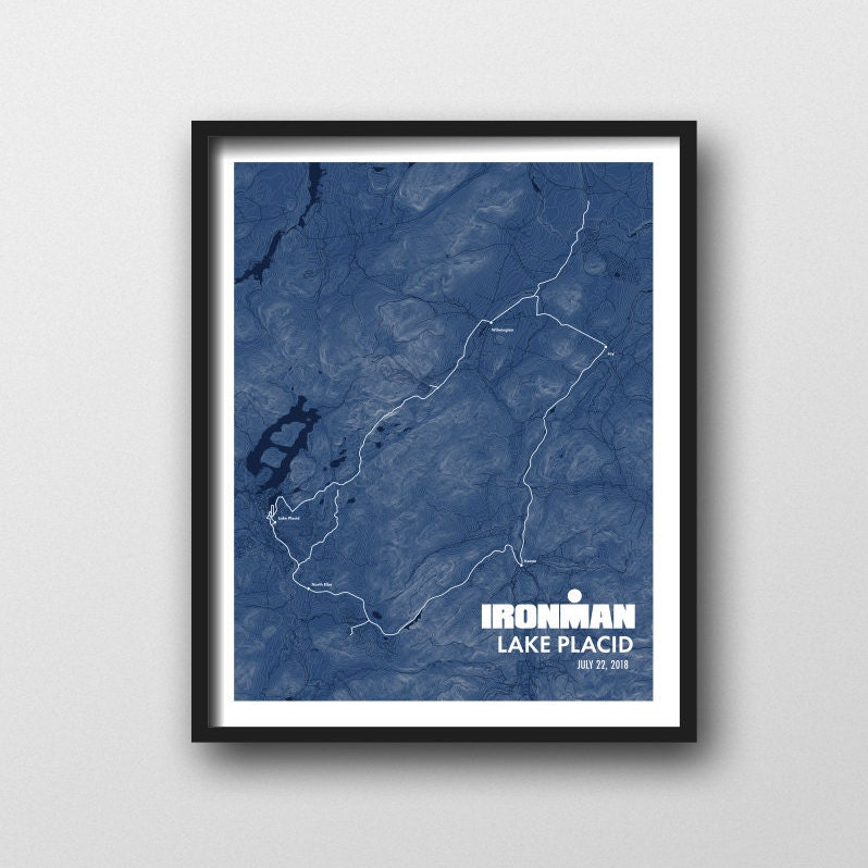 IRONMAN See friedvoll 2018 NY Karte Druck Finisher Geschenk / | Etsy