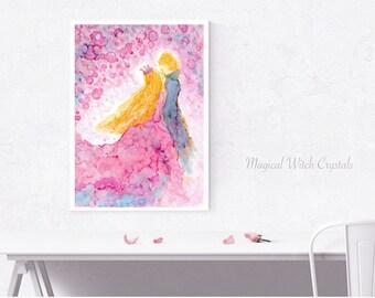 Art, illustration, Painting ◁ ▷ love ◁ ▷ Healing Art, Healing, LOVE and Light, Spiritual.