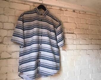Striped Vintage Men's Shirt