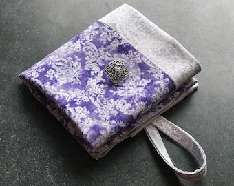 Jewelry Bag Phone Accessory Modern Travel Case| Snack Bag| Travel Kit Handmade Foldable Fabric Wallet Tea Wallet Purse Organizer