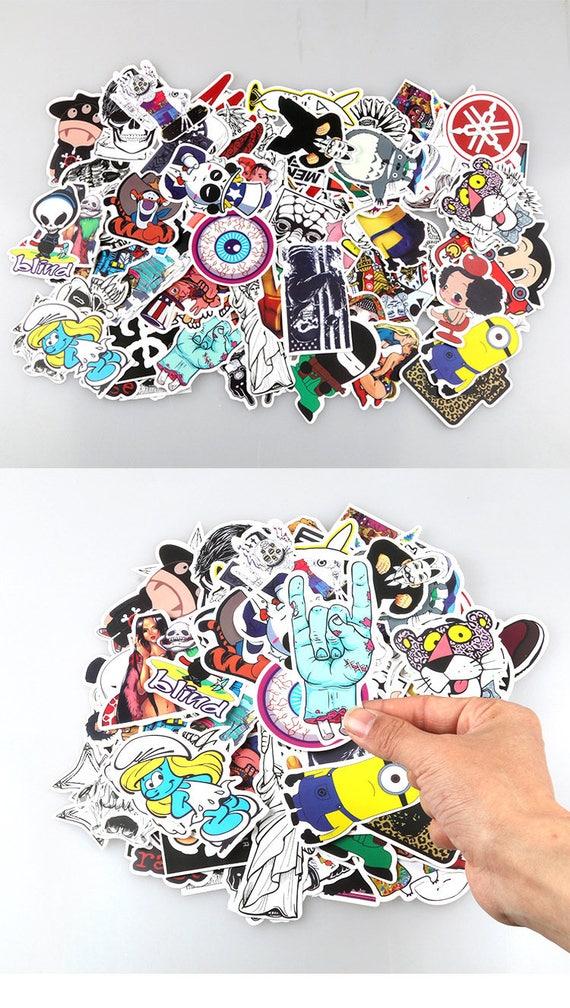 Sammeln & Seltenes Aufkleber Das Beste 100 Pcs Cartoon Graffiti Stil Aufkleber Für Auto Fahrrad Motorrad Telefon Laptop Reise Gepäck Coole Lustige Aufkleber Bombe Jdm Decals