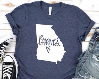 huge discount 87178 b89ea Atlanta braves shirt | Etsy