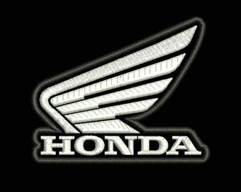 HONDA LOGO PATCH Honda Motorcycles Logo Machine Embroidery Design Instant Download