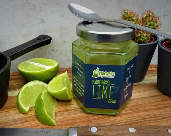 Vegan Lime Cerd (Curd Alternative)