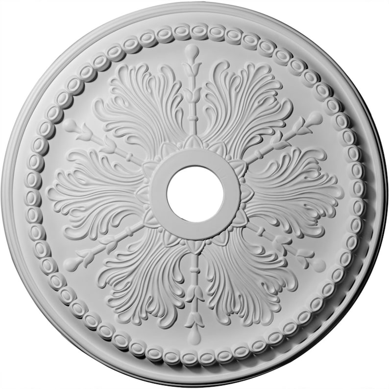 27 12OD x 4ID x 1 12P Winsor Ceiling Medallion Fits Canopies up to 4