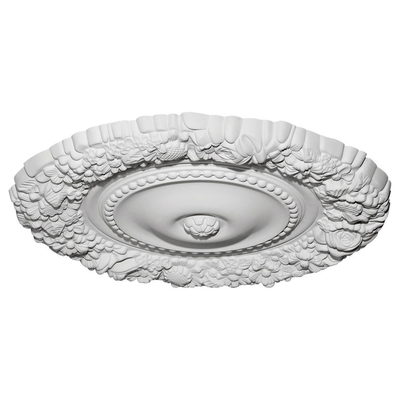 21OD x 2P Marseille Ceiling Medallion Fits Canopies up to 7 38