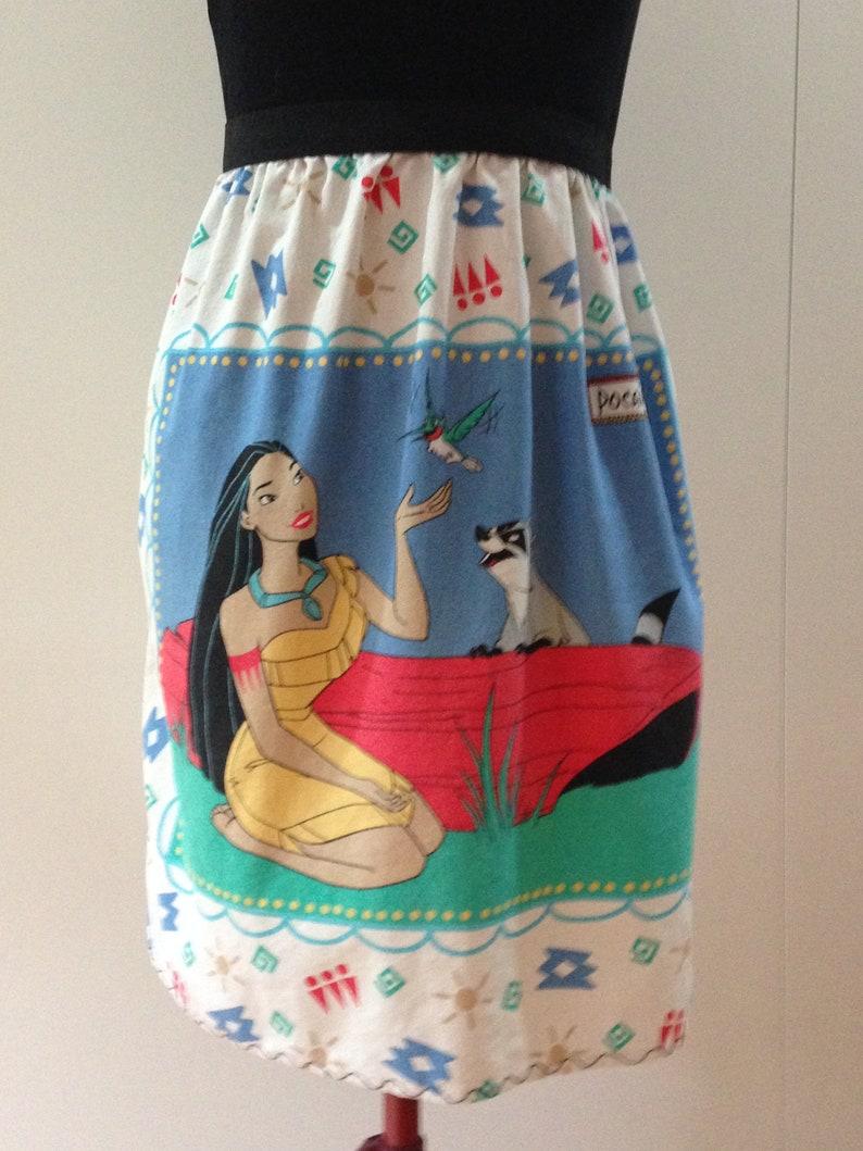 Fabulous Pocahontas A-line skirt Size 3638 Small