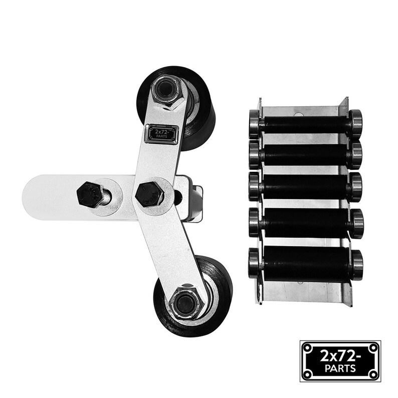 2x72 Belt Grinder Small Wheel Holder set with Deflector Wheel Bracket & 2