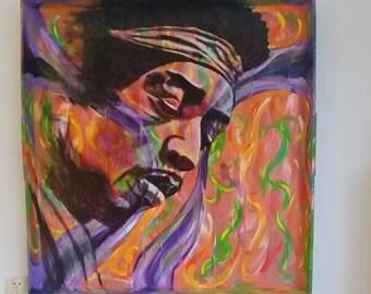 Great portrait Jimi Hendrix