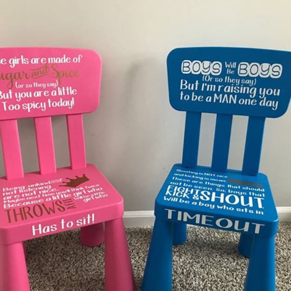 Time Out Chair Kids Time Out Chair Toddler Chair Kids Etsy