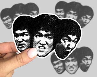 50PCS Bruce Lee Kung Fu Martial Arts Star Graffiti Stickers Laptop Vinyl Decals