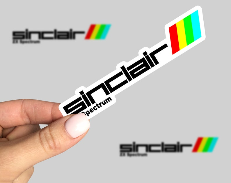Sinclair ZX Spectrum Sticker