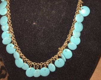 Semi-Precious Dangle Necklace