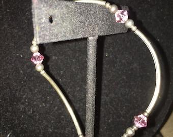 Swarovski Silver Plated Bracelet