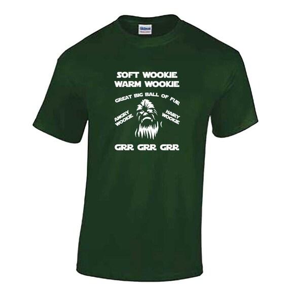 Star Wars Inspired Unisex Jumper Soft Wookiee Warm Wookiee Grr Grr Grr Sweater