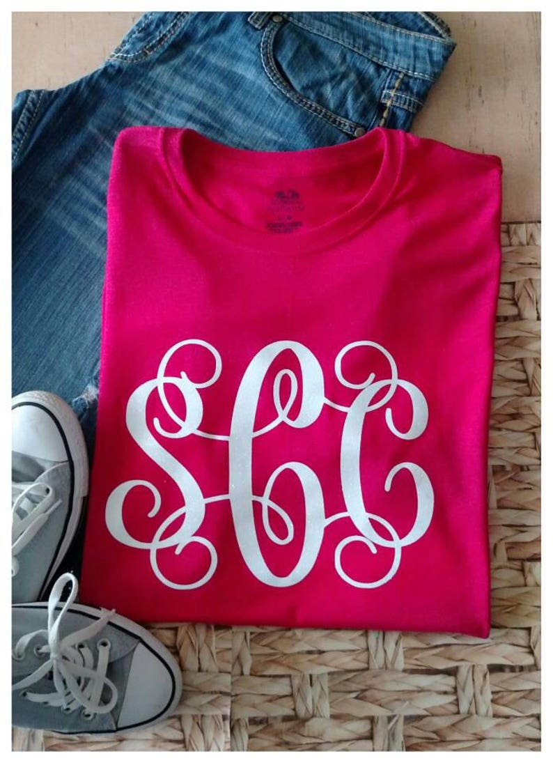 39a1caac7 SALE Women's Monogrammed Shirt Monogrammed Shirt for | Etsy