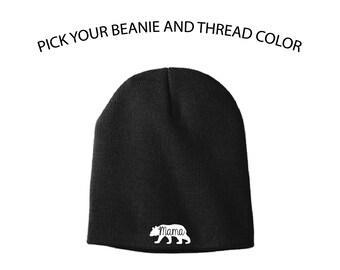 5eea9e4452a Mama Bear Knit Cap