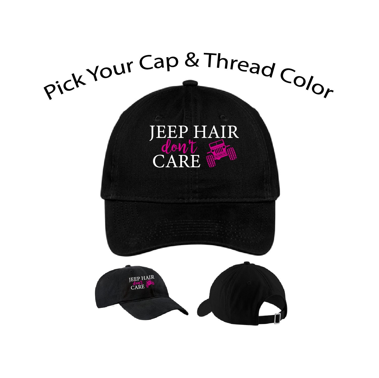 Jeep Hair Dont Care Dad Cap Jeep Hair Dad Hat Funny Hat Dad  8b4f8f1f1a9