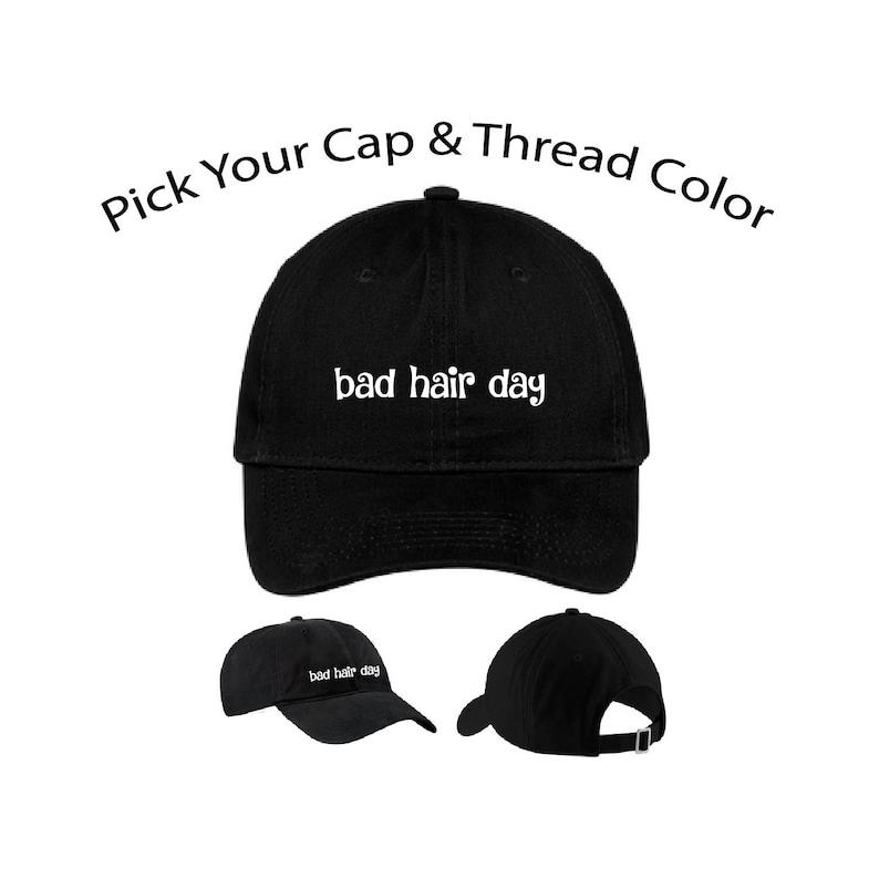 c2eed0a6 Bad Hair Day Dad Cap Bad Hair Day Dad Hat Dad Cap Dad Hat | Etsy
