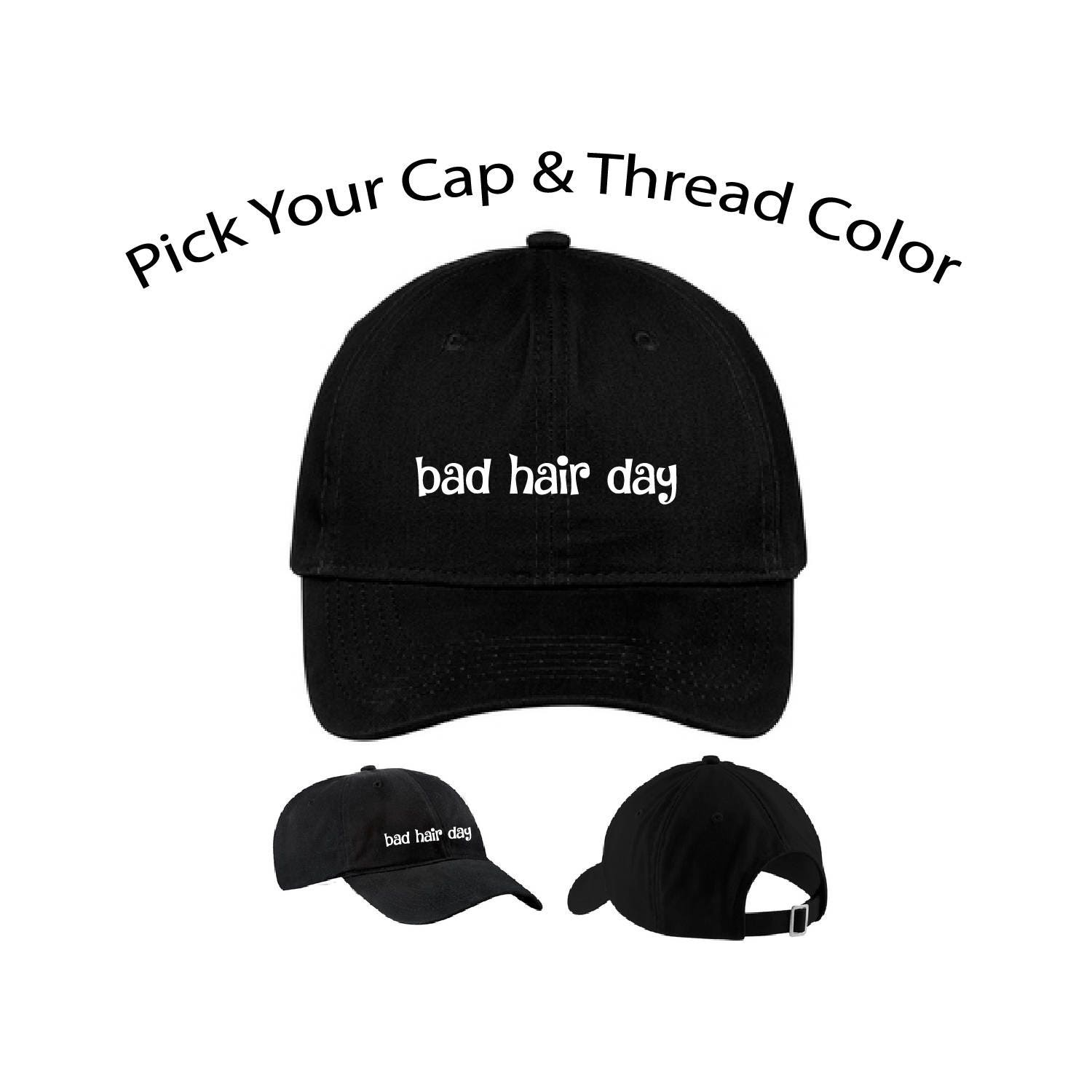 94ff56d0e07fd0 Bad Hair Day Dad Cap Bad Hair Day Dad Hat Dad Cap Dad Hat | Etsy