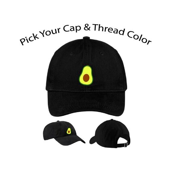Avocado Dad Cap Avocado Dad Hat Dad Cap Dad Hat Food Hat  02ee710f2e8