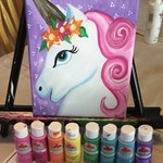 Bella The Unicorn Painting Lesson Download