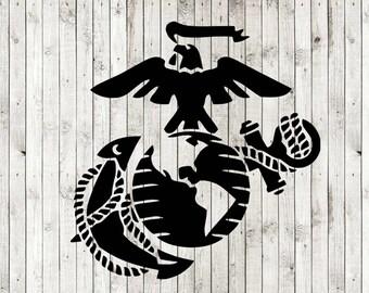marine svg etsy rh etsy com usmc logo clip art usmc emblem clip art