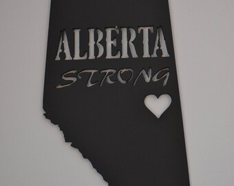 Alberta Strong Plaque