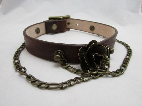 Dog collar The Annabelle dog collar