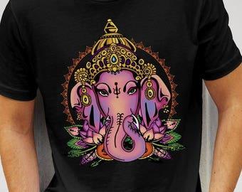 Old School Tattoo Ganesh T-shirt