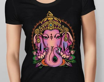 Old School Tattoo Ganesh Women's T-shirt