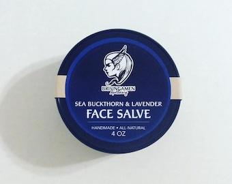 Sea Buckthorn and Lavender Face Salve