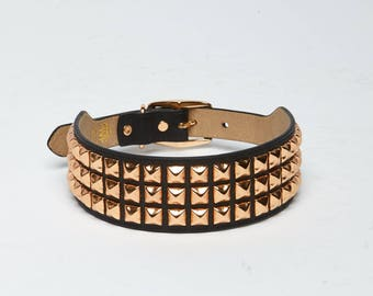 22 Inch Gold Studded Collar
