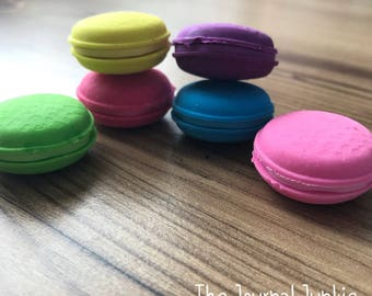 Macaron Novelty Eraser set