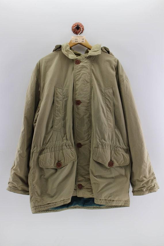 Vintage UNITED COLORS of BENETTON Parka Jacket Ove