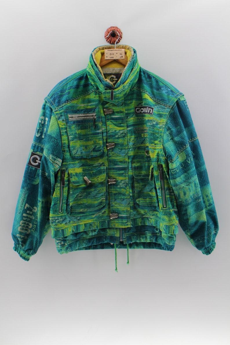 Clothing, Shoes & Accessories Phenix Winter Ski Snowboard Jacket Vest Men's Size M Vintage 90s Yellow Black Reputation First