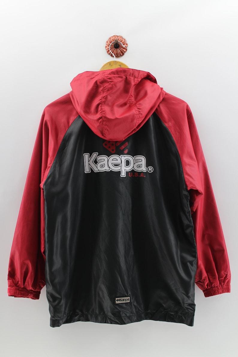 f470f22a9 Vintage 90's KAEPA Big Logo Windbreaker Jacket Large Kaepa | Etsy