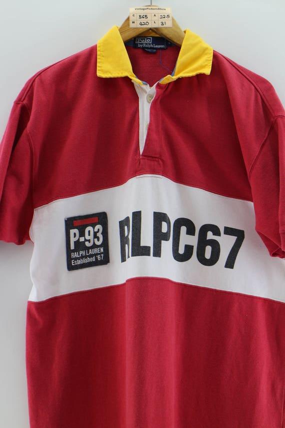 4c209f72 POLO RALPH LAUREN Polo Shirt Men Small Vintage 90's Polo | Etsy