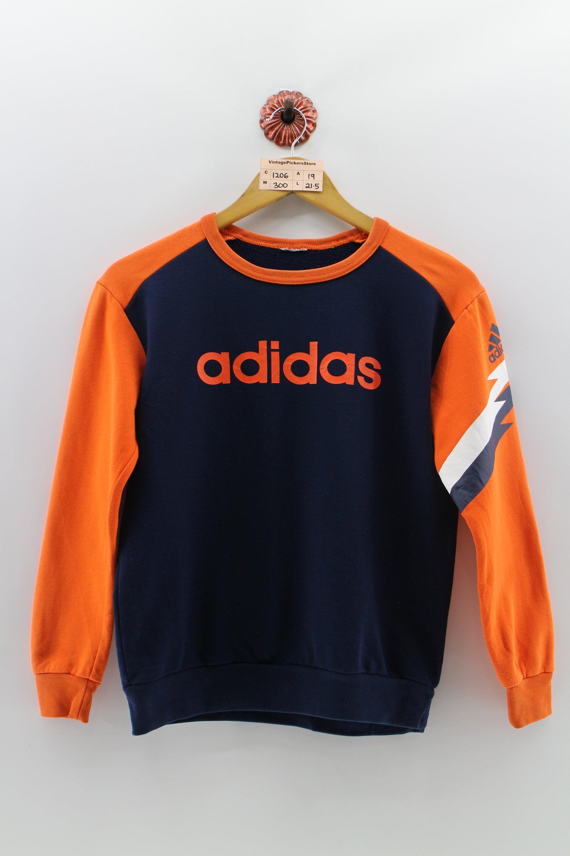 heißer verkauf Vintage ADIDAS Sweatshirt Männer kleine 90er